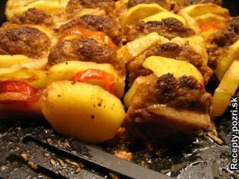 Čufty prekladané zemiakmi